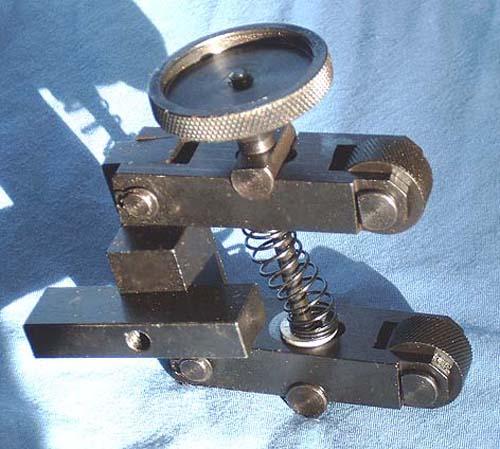 Knurling Tool – Scissor Type
