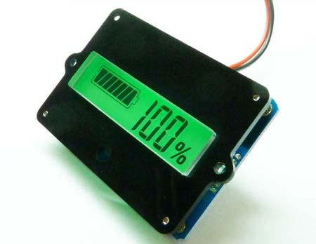 Panel Meter – Battery Capacity 12V Lead Acid
